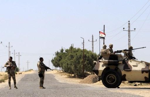 مقتل شرطي في هجوم مسلح شمال سيناء