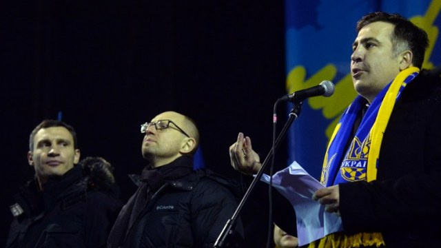 جورجيا توصي الحكومة الأوكرانية بعدم الإصغاء لنصائح ساآكاشفيلي