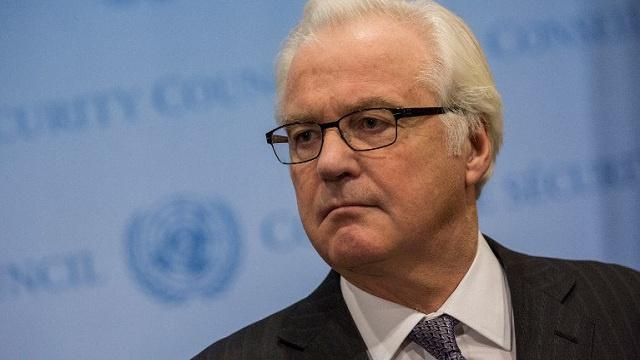 تشوركين يأمل في مساهمة الأمم المتحدة بفتح تحقيق في الأحداث الدموية بكييف