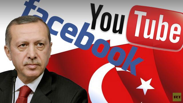 أردوغان يهدد بحظر