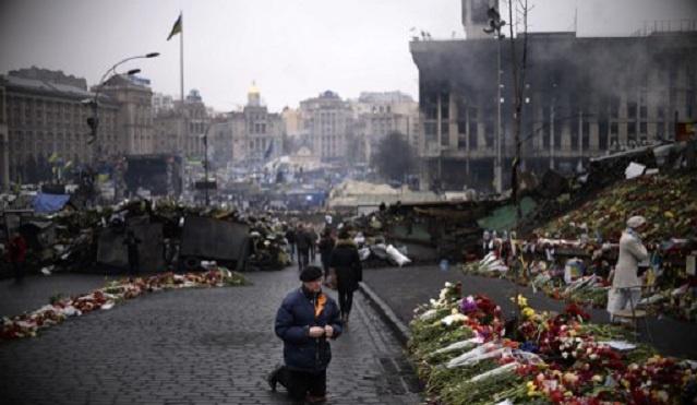 الاتحاد الأوروبي يدعو إلى إجراء تحقيق مستقل في أعمال العنف بأوكرانيا