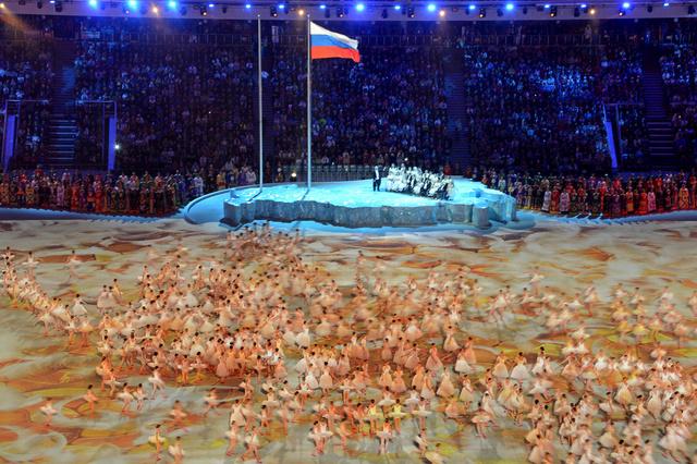افتتاح دورة الألعاب البارالمبية الشتوية في سوتشي