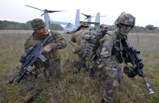 أمريكيون يدرّبون القوات الخاصة العراقية والأردنية