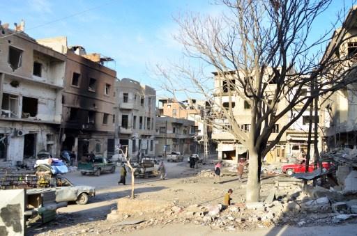 استمرار الاشتباكات في يبرود وسقوط قتلى وجرحى في صفوف المسلحين