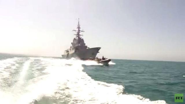 بالفيديو.. تدريبات عسكرية للناتو في خليج عدن