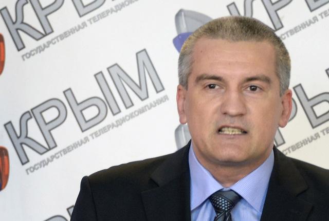 أكسيونوف: حكومة القرم تسيطر على كل المرافق الحيوية في الجمهورية