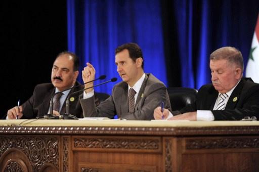 الأسد يؤكد تماسك حزب البعث الحاكم خلال الأزمة
