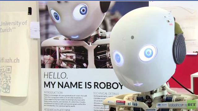 بالفيديو.. لقاء مع الروبوت