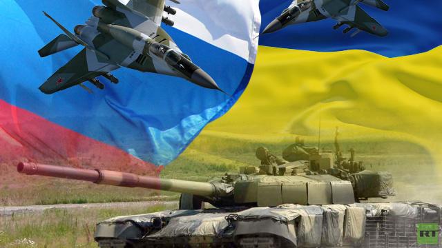 توازن القوى العسكرية بين روسيا وأوكرانيا