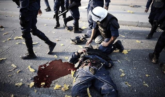 البحرين تتهم أطرافا خارجية بتدبير الإنفجار الذي أودى بحياة 3 من الشرطة