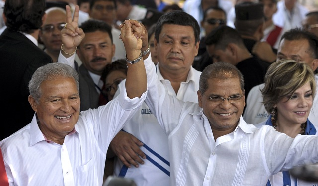 اليسار في السلفادور يعلن فوز مرشحه في الإنتخابات الرئاسية