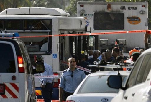 محكمة اسرائيلية تقضي بالسجن 25 عاماً على مفجر حافلة بتل أبيب