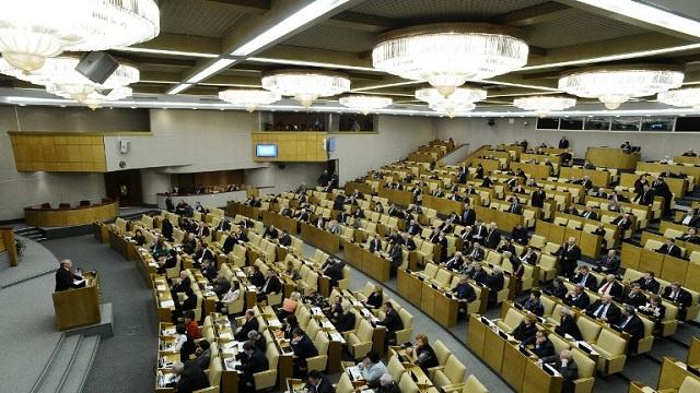مجلس الدوما الروسي ينظر الأسبوع القادم في مشروع قانون يسهل ضم أراض جديدة الى روسيا