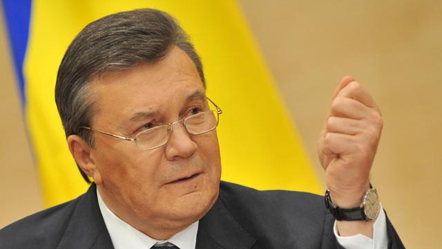 يانوكوفيتش: أنا الرئيس الشرعي والمستولون على السلطة مسؤولون عن سعي القرم للخروج