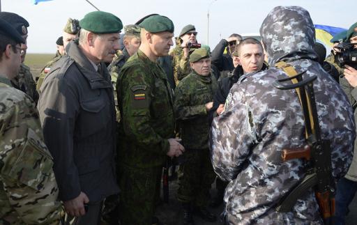 اوكرانيا تطلب من منظمة الامن والتعاون الاوروبي ارسال مراقبيها الى شرق وجنوب البلاد