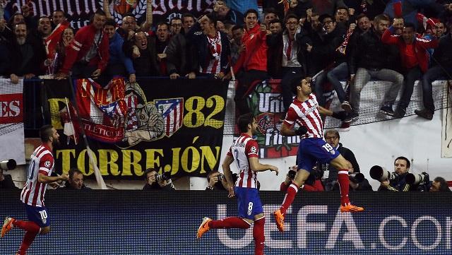 أتلتيكو مدريد يجدد فوزه على ميلان الايطالي ويبلغ ربع نهائي دوري الأبطال