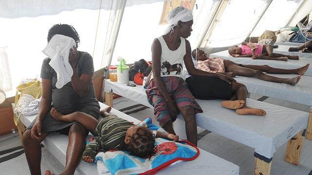 دعوى سكانية من هاييتي إلى الأمم المتحدة بسبب مقتل الألوف بوباء الكوليرا عام 2010