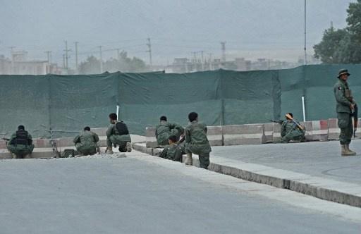 هجوم مسلحين على مديرية الأمن في ولاية قندهار الافغانية
