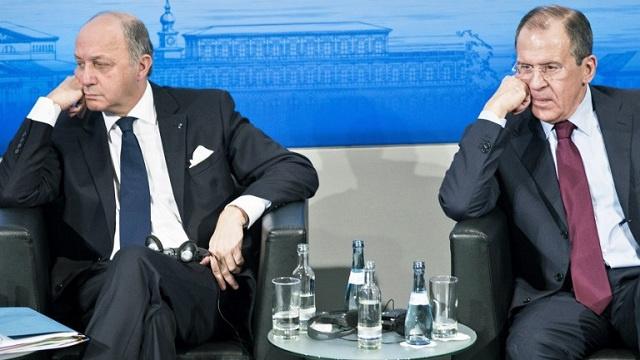 فابيوس يبحث مع لافروف تداعيات الأزمة الأوكرانية والوضع حول القرم