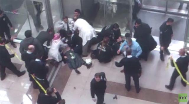 مقتل شخصين في إحدى محاكم اسطنبول (فيديو)