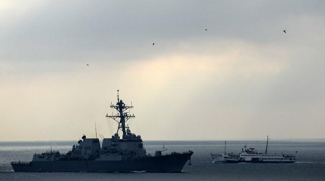 الناتو يرسل طائرتي استطلاع الى الحدود الاوكرانية وامريكا تبدأ تدريبات بحرية قرب سواحلها