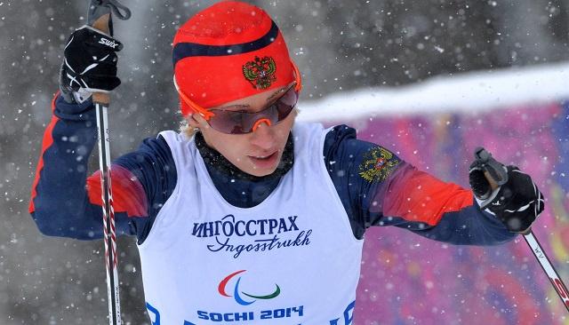 النجمة الروسية ليسوفا تحرز الذهبية الثالثة لها في سوتشي