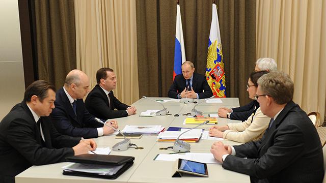 بوتين: وضع الاقتصاد الروسي مستقر