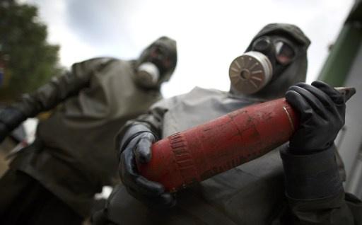 منظمة حظر الكيميائي: اخرجنا جميع كميات غاز الخردل من سورية