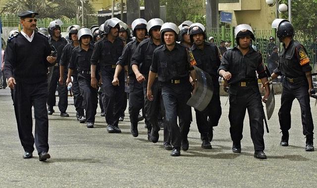 الأجهزة الأمنية المصرية تضبط