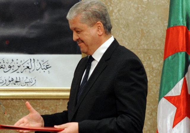 رئيس الوزراء الجزائري يستعد لتقديم استقالته