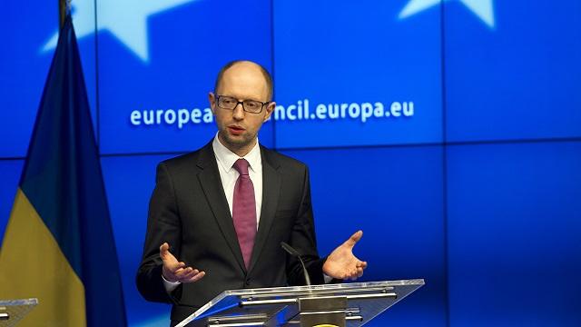 كييف تأمل بتوقيع الجزء السياسي من اتفاقية الشراكة مع بروكسل الأسبوع القادم