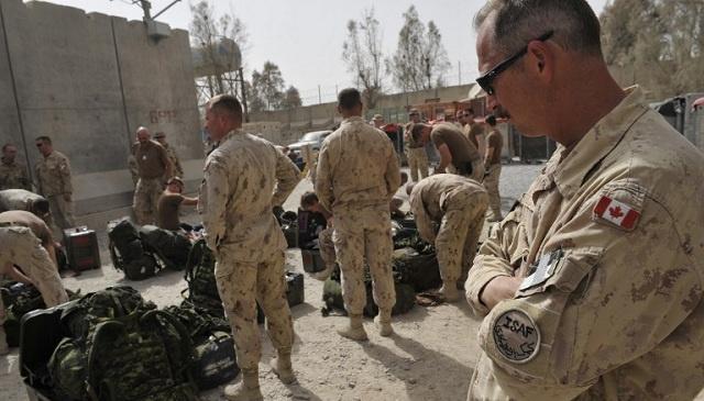كندا تعلن عن انتهاء مهمتها العسكرية في أفغانستان