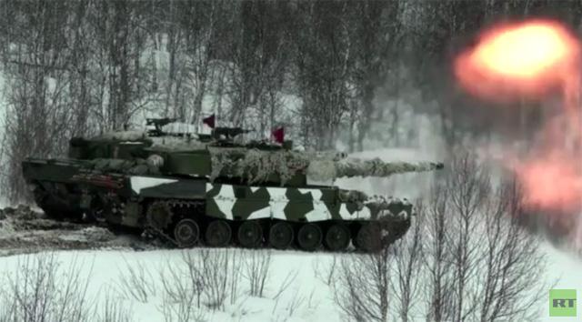 بالفيديو: قوات الناتو تتدرب على القتال في الظروف الشتوية بالنرويج