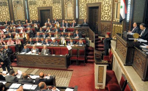 مجلس الشعب السوري يستمر في بحث مشروع قانون الانتخابات ويوافق على عدة مواد