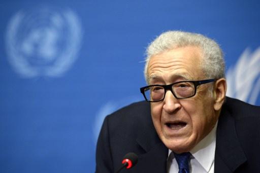 الإبراهيمي: لدينا رغبة حقيقية في إستئناف المفاوضات بين الحكومة السورية والمعارضة