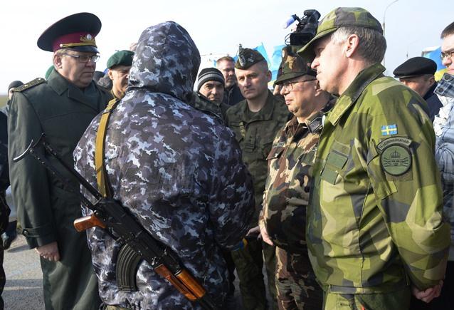منظمة الامن والتعاون: روسيا توافق على ارسال بعثة مراقبين الى اوكرانيا