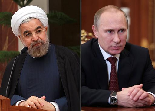 بوتين في حديث مع روحاني: لا يمكن حل قضية أوكرانيا إلا على أساس أخذ الاعتبار لمصالح جميع مواطنيها