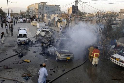 مقتل اكثر من 10 اشخاص واصابة 30 آخرين في انفجار في كويتا الباكستانية