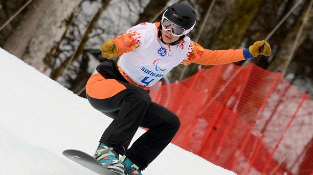 الهولندية مينتيل-سبي تهدي الميدالية الأولى لبلادها في باراولمبياد سوتشي 2014