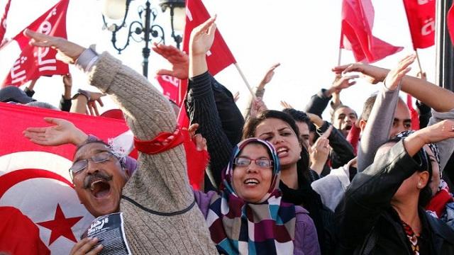 الجبهة الشعبية التونسية تدعو إلى التعبئة ضد