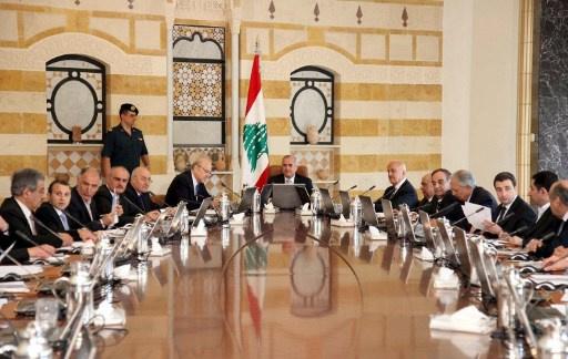 الحكومة اللبنانية تقر البيان الوزاري في ظل تحفظ بعض الوزراء على فقرة