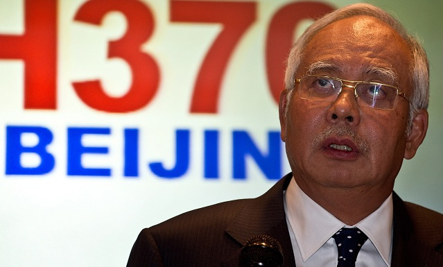 رئيس الوزراء الماليزي: إختفاء الطائرة قد يبدو متعمدا