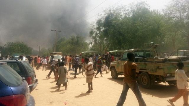 212 قتيلا حصيلة إشتباكات مسلحي بوكو حرام مع الجيش في نيجيريا
