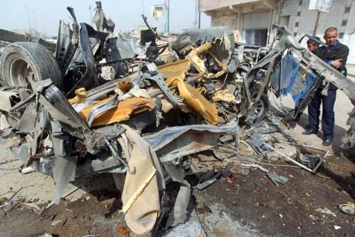 قتلى وجرحى جراء انفجار سيارتين مفخختين في بغداد