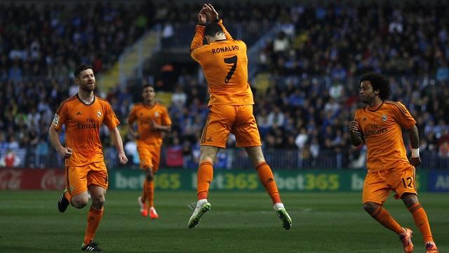 بالفيديو .. ريال مدريد يحقق فوزا قيصريا على مالقا بهدف