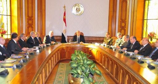 الحكومة المصرية تؤكد عزمها التصدي لأي اعتداء على منشآت مدنية او عسكرية