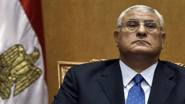 منصور: لا يمكن أن أفكر بالترشح للرئاسة
