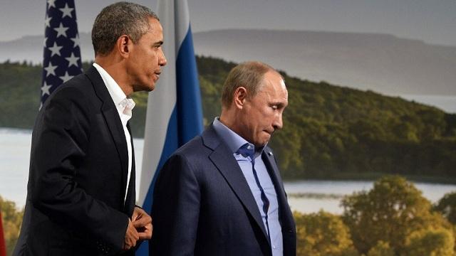 بوتين يؤكد لأوباما أن الاستفتاء في القرم يتفق مع مبادئ القانون الدولي والأخير يرفض الاعتراف بنتائجه