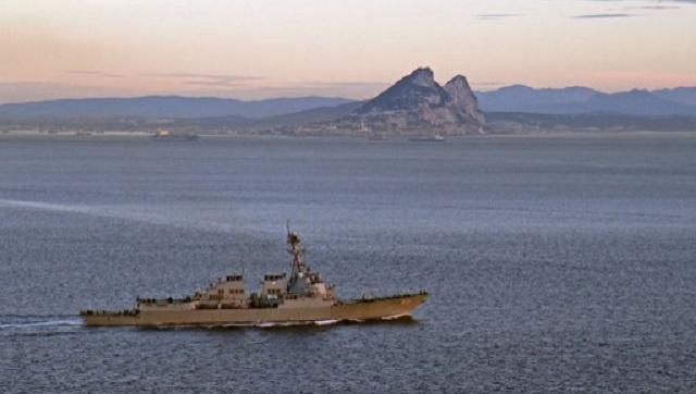 البحرية الأمريكية توقف الناقلة الكورية الشمالية المحملة بنفط مهرب من ليبيا