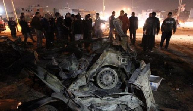 مقتل 9 أشخاص وإصابة آخرين في تفجيرين استهدفا مدينة بنغازي